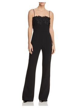 Aliyah Embellished Jumpsuit   100 Percents Exclusive by Black Halo