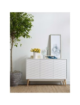 Elle Decor Aurie Sideboard French White by Generic
