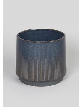 Ceramic Planter (15cm X 15cm X 14cm) by Matalan