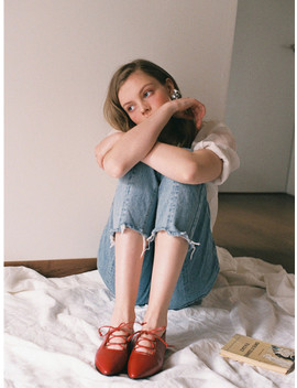 Evo Rouge 1cm Heel by Rimrim
