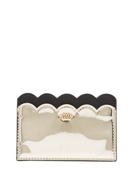 Specchio Leather Card Case by Juicy Couture