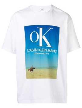 Logo T Shirt by Calvin Klein Jeans Est. 1978