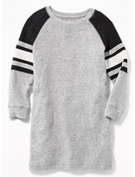 Plush Knit Raglan Tunic For Girls by Old Navy