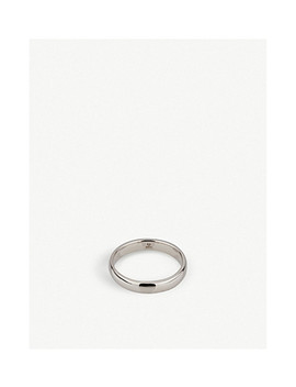 Classic Sterling Silver Band Ring by Tom Wood