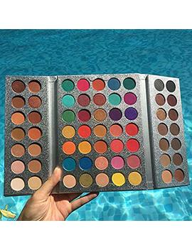 Makeup Gorgeous Me Eyeshadow Palette 63 Color Make Up Palette Charming Eyeshadow Pigmented Eye Shadow Powder by Tagero