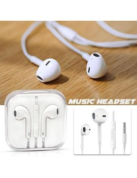 Earphone 3.5mm Universal Mic Headphone Noise Reduce For I Phone X 7 8 Samsung Lg by Unbranded