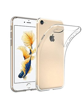 Kp Technology I Phone 7 / I Phone 8   Clear Case Ultra Thin Transparent Silicone Gel Cover For Apple Iphone 7, Apple Iphone 8 (I Phone 7 / I Phone 8, Clear) by Kp Technology