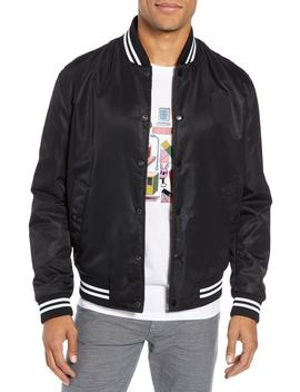 X Jeremyville Ceremy Reversible Varsity Jacket by Boss