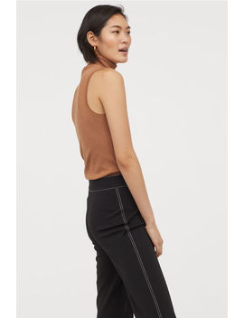 Sleeveless Polo Neck Jumper by H&M