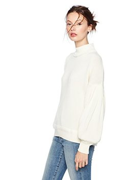 Cable Stitch Women's Pleated Sleeve Sweater by Cable Stitch