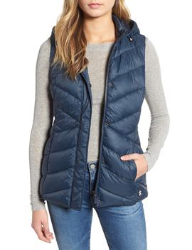 Seaward Hooded Vest by Barbour