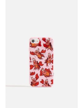 **Disney X Skinnydip Sebastian Case   I Phone 6/6 S/7 & 8 By Skinnydip by Topshop