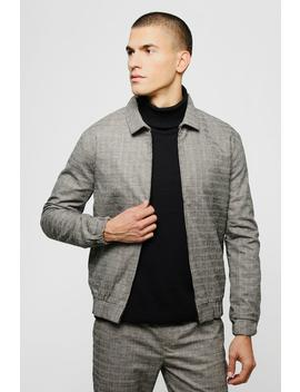 Heritage Mini Check Coach Jacket by Boohoo