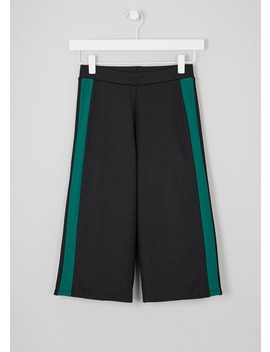 Girls Candy Couture Side Stripe Culottes (9 16yrs) by Matalan