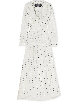 La Tunique Badii Fil Coupé Voile Midi Dress by Jacquemus