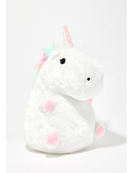 Uni Unicorn Plush Glowing Pillow by Smoko
