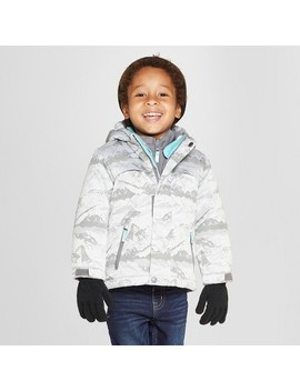 Toddler Boys' Jacquard 3 In 1 Jacket   Cat & Jack™ Gray by Cat & Jack