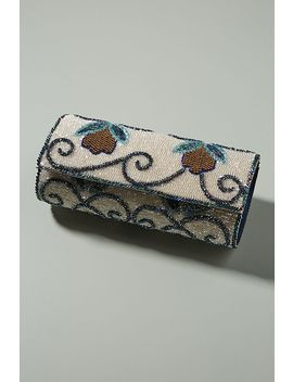 Berry Vines Beaded Clutch by Anthropologie