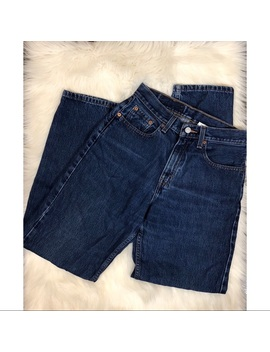 Levi's Vintage Straight Leg High Waste Jeans by Levi's