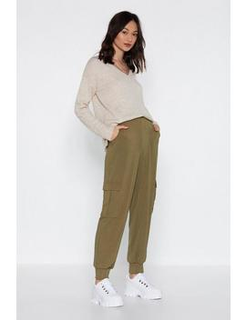 Cargo Get 'em Ribbed Pants by Nasty Gal