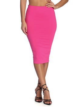 Keep It Lit Pencil Skirt by Windsor