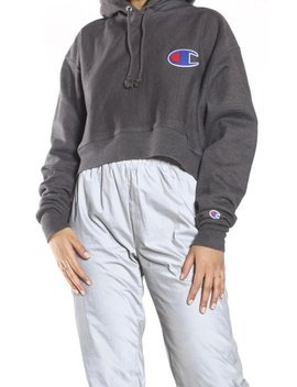 Vintage Champion Crop Sweatshirt by Frankie.