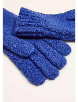 Chunky Knit Gloves by Mango
