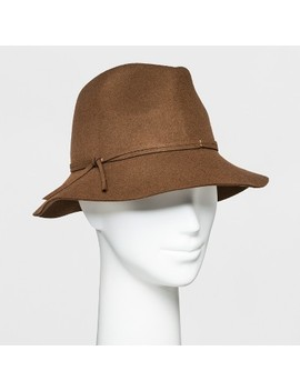 Women's Down Brim Felt Fedora   A New Day™ by A New Day