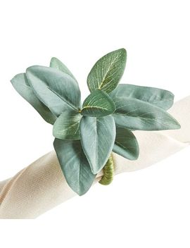 Eucalyptus Leaf Napkin Ring by Pier1 Imports