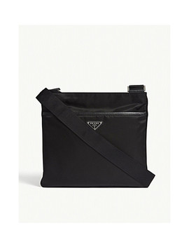 Flight Nylon Shoulder Bag by Prada