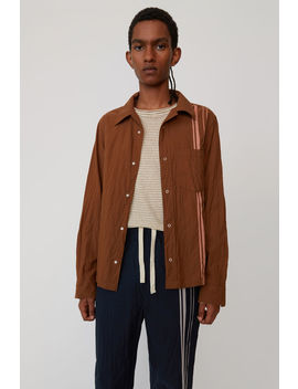 Workwear Shirt Brown/Ginger Orange by Acne Studios