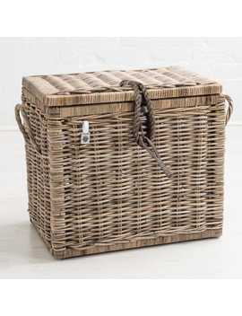 Kubu Rattan Storage Trunk by Generic