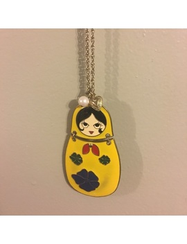 Nesting Doll Necklace by Poshmark