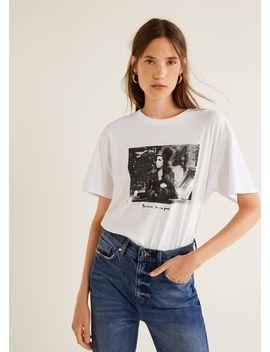 T Shirt Da Amy Winehouse by Mango