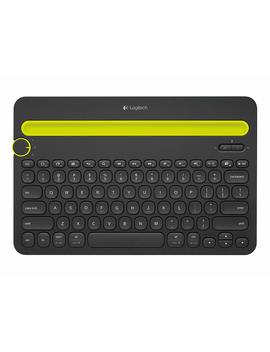 Logitech K480   Teclado Multidispositivo Bluetooth, Color Negro by Logitech