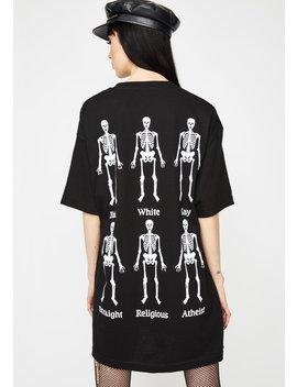 Bones T Shirt by Pleasures