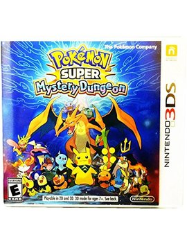 Pokemon Super Mystery Dungeon   Nintendo 3 Ds Standard Edition by By          Nintendo