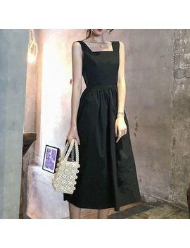 Sugar Town   Plain Sleeveless Midi Dress by Sugar Town