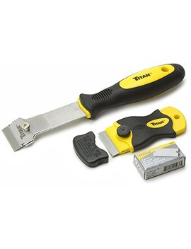 Titan Tools 17002 2 Piece Multi Purpose Razor Scraper Set With Extra Razor Blades by Titan Tools