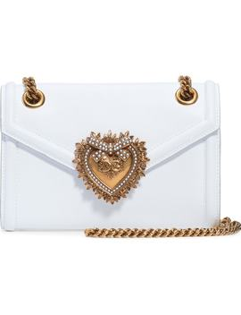 Micro Devotion Leather Crossbody Bag by Dolce&Gabbana