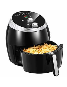 Tidylife Air Fryer Xl, 1700 W 5.8 Qt 8 In 1 Electric Oilless Hot Air Fryer, Non Stick Fry Basket, Auto Shut Off, Dishwasher Safe (Over 32 Recipes) by Tidylife