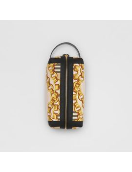 Archive Scarf Print Cotton Pouch by Burberry