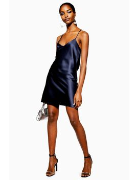 Satin Slip Mini Dress by Topshop