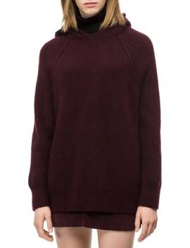 Textured Hooded Sweater by Calvin Klein Jeans