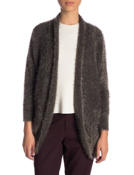 Eyelash Shawl Cardigan (Regular & Petite) by 14th & Union
