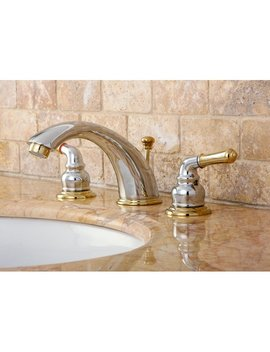 Kingston Brass Magellan Widespread Bathroom Faucet With Abs Pop Up Drain & Reviews by Kingston Brass