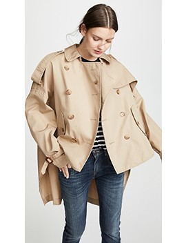 Tuck In Trench Coat by R13