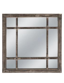 Quadrant Rustic Wood Wall Mirror by Hobby Lobby