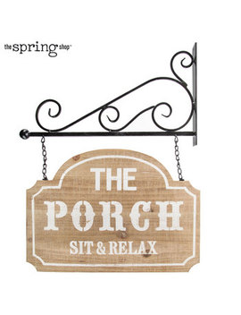 The Porch Wood Wall Decor by Hobby Lobby