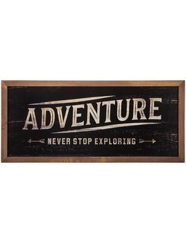 Adventure Wood Wall Decor by Hobby Lobby